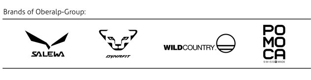 Brands of Oberalp-Group - Salewa - Dynafit - Wild Country - POMOCA
